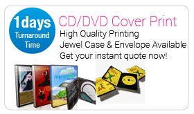 CD And DVD Cover Print