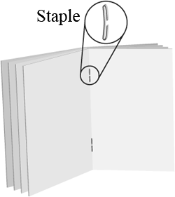Staple Bind Sample