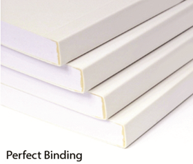Perfect Bind Booklet Sample