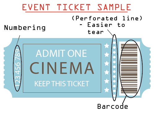 Event Ticket Sample 2