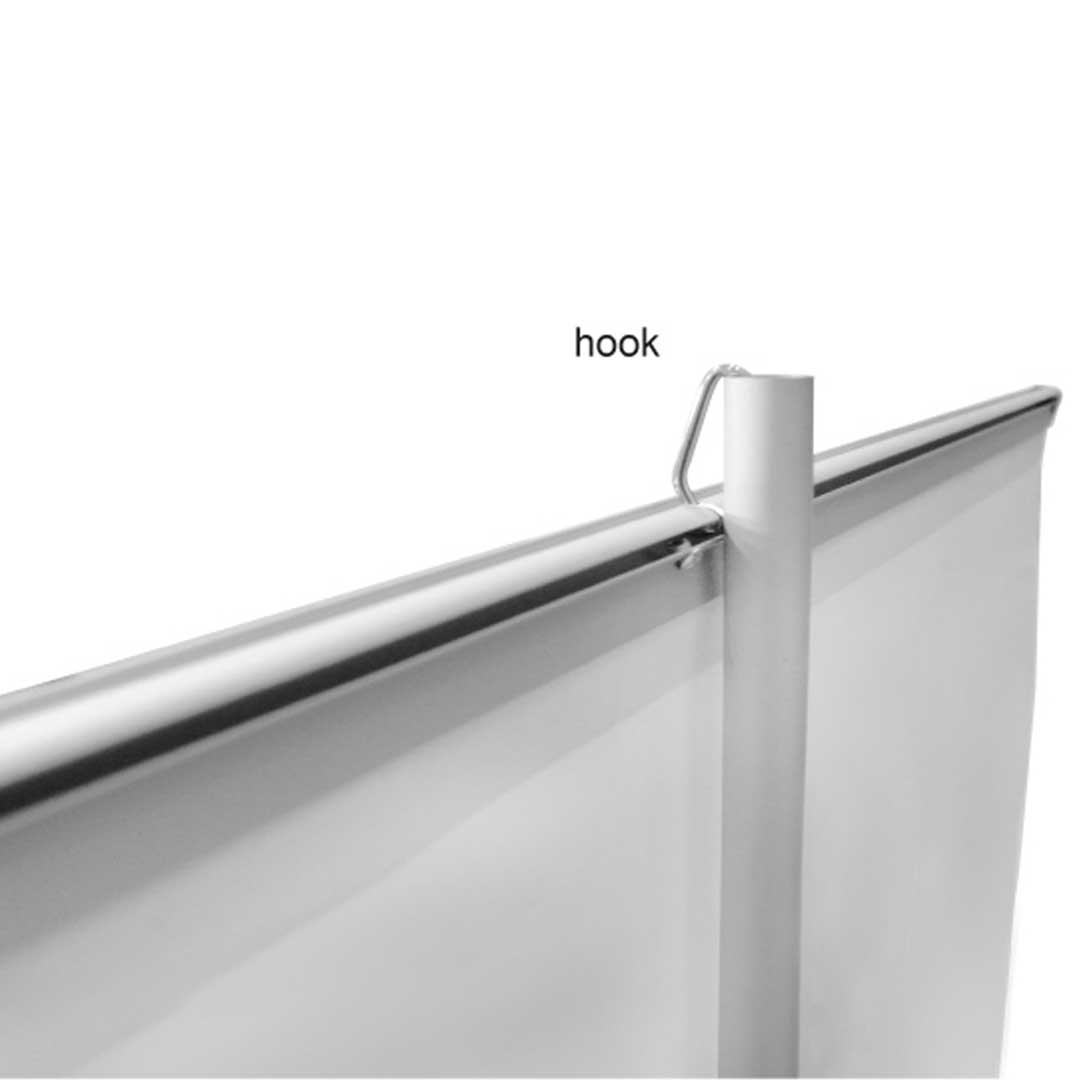 Premium roll up hook