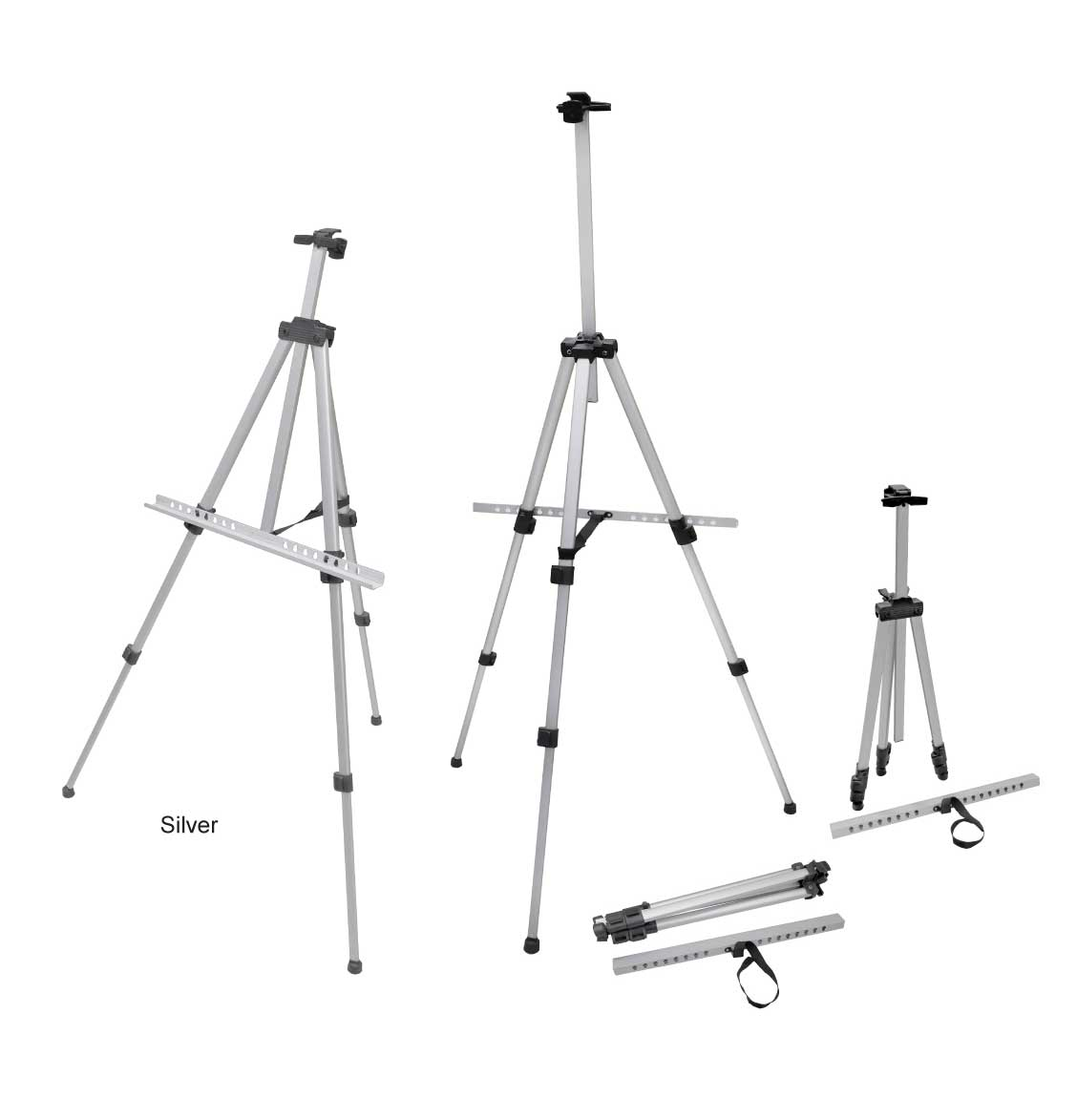Silver Easel Stand