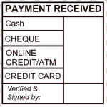 Payment Receive Chop