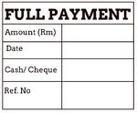 Payment chop