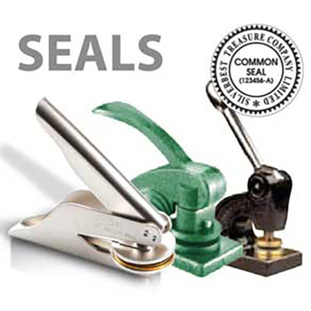 Rubber Stamp, Embossing Seal