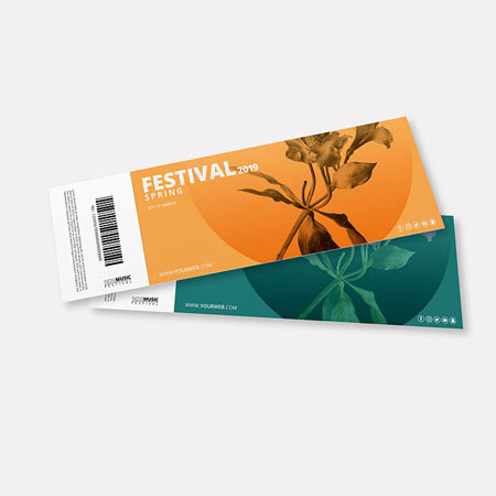 Event Ticket and Voucher Printing