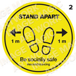 Covid Prevention Sticker 2