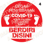 Covid Prevention Sticker 4
