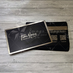 Black Metal Card Sample
