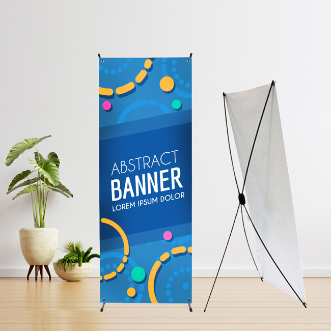 X Stand Bunting Sample