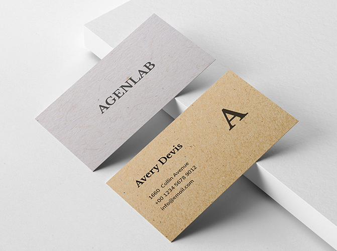recycle business card