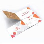 Folded Business Card Sample