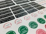 Warranty Sticker Printing