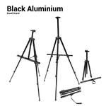 Black Aluminium Stand