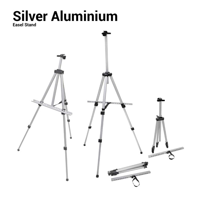 Silver Aluminum Stand