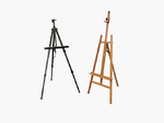 Easel Wooden Or Wooden Stand